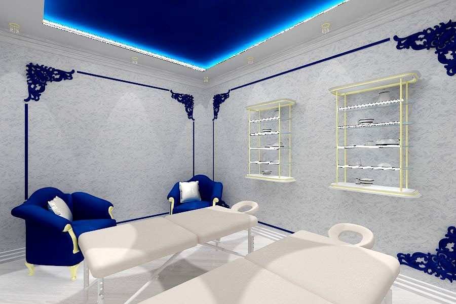 Thai massage SPA salon in 3d max vray image