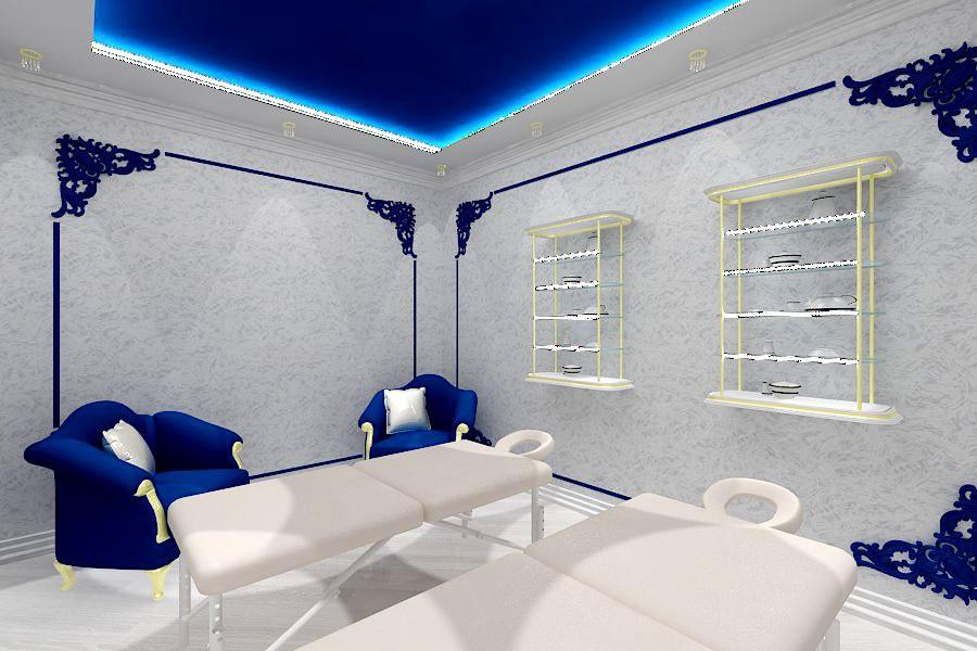 Thai massage SPA salon in 3d max vray image