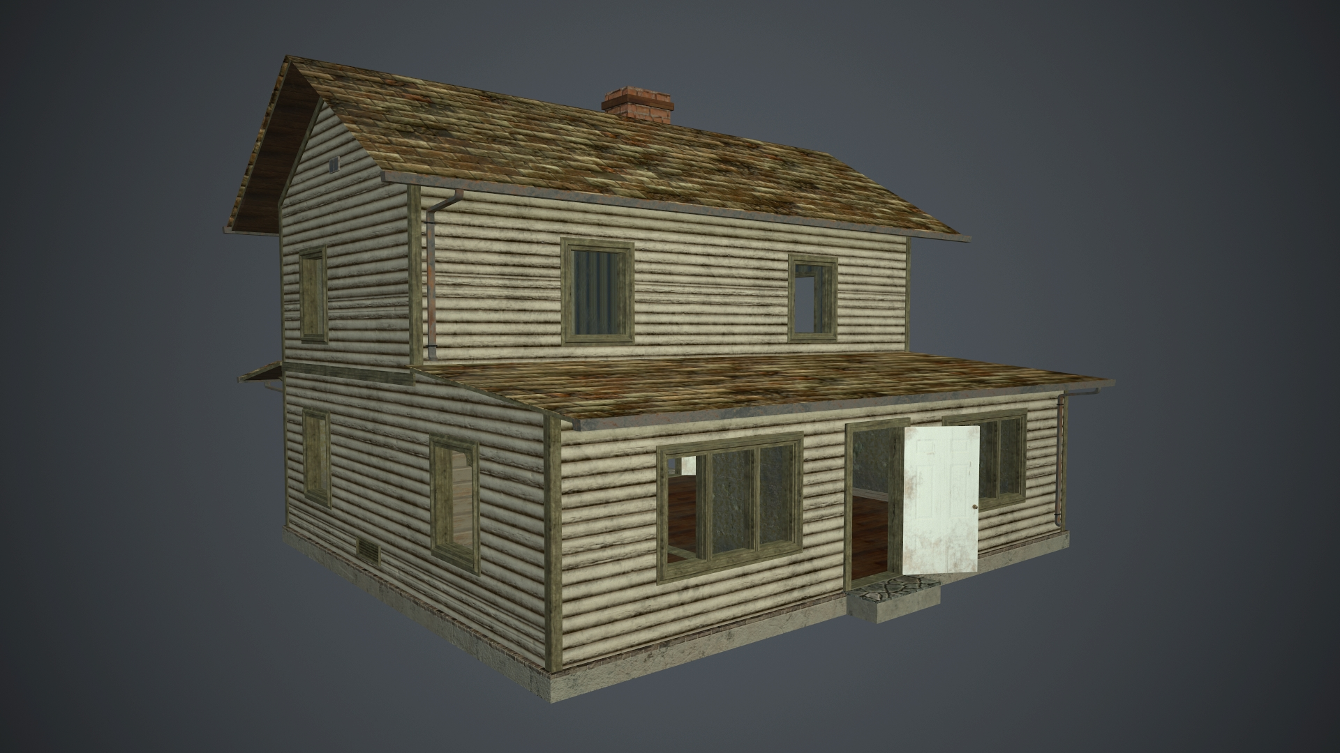 Town house in 3d max Other image