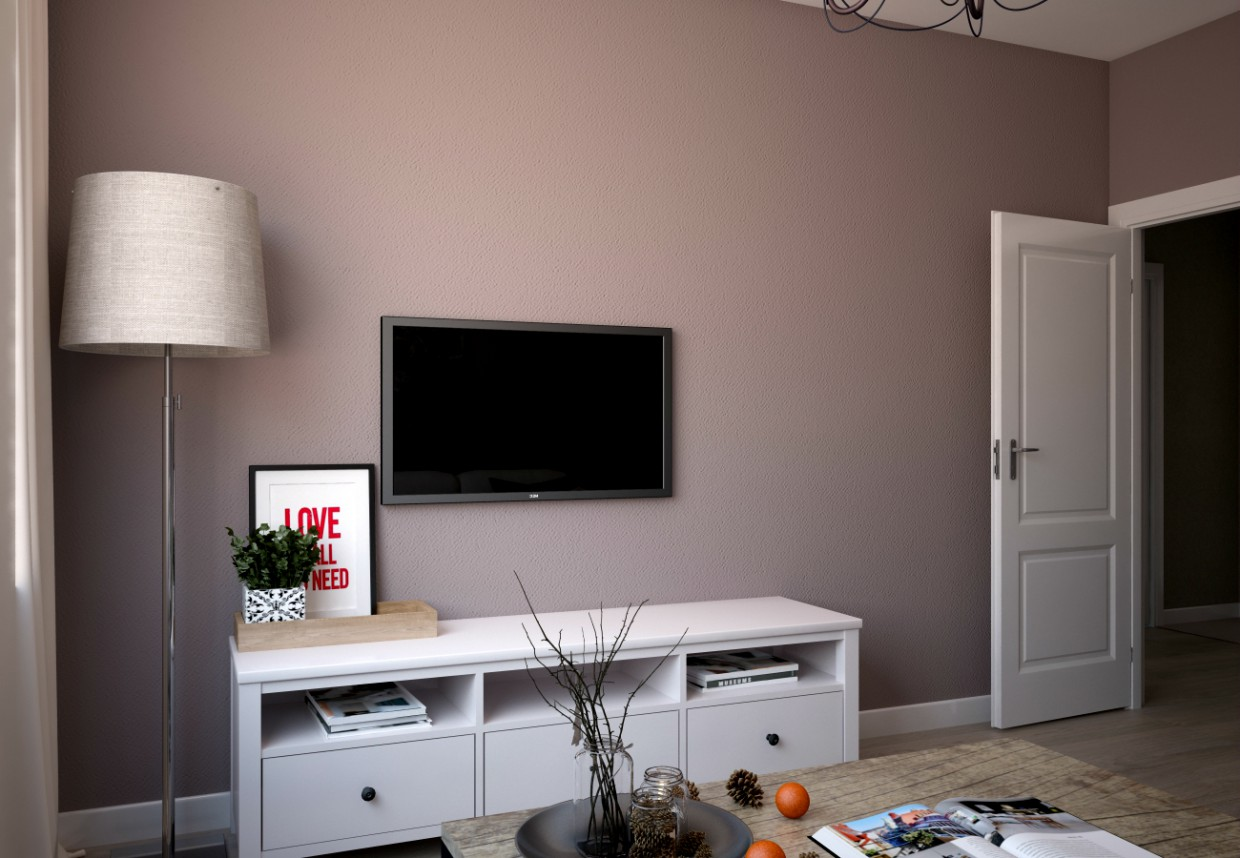 Room in 3d max vray image