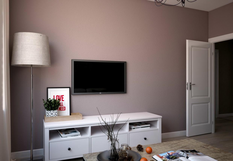 Кімната в 3d max vray зображення