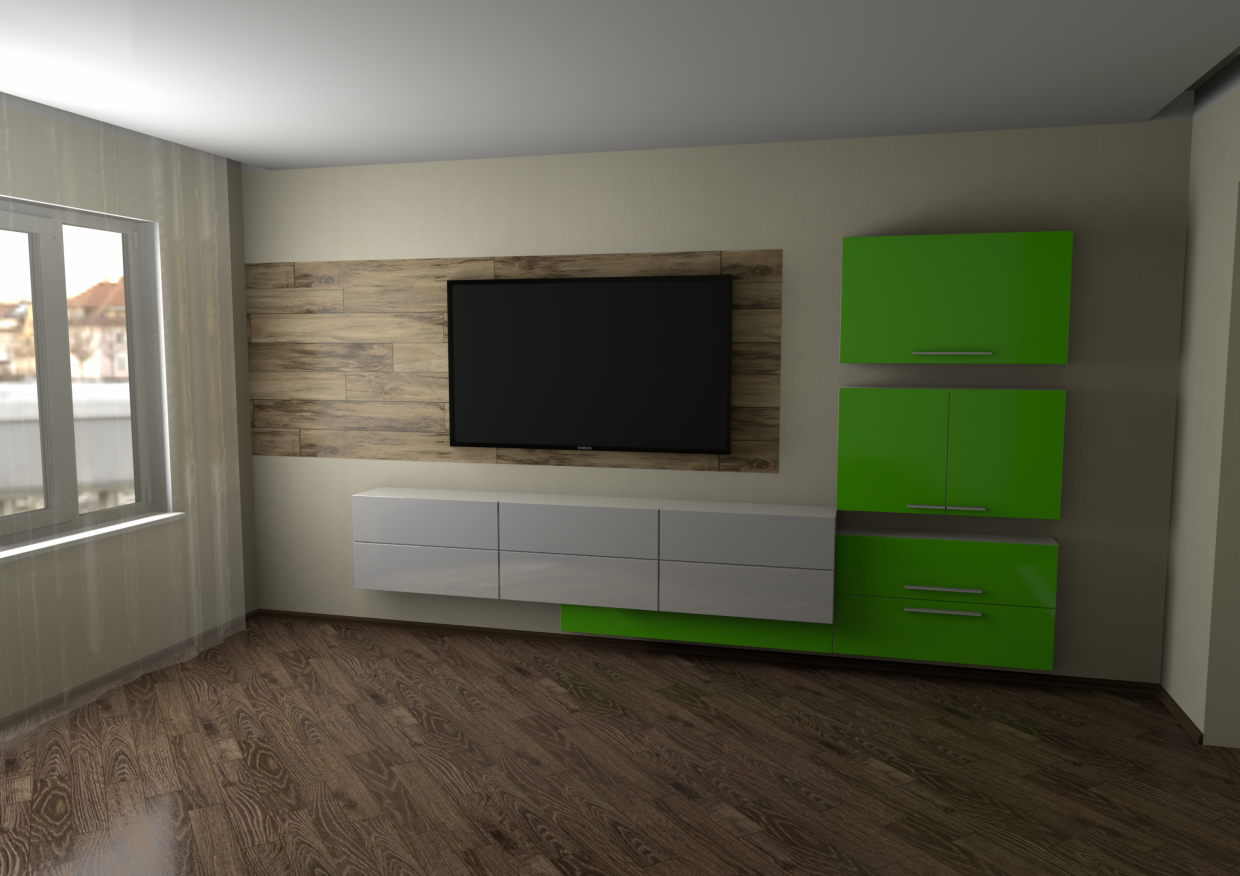 living room in Blender Other image