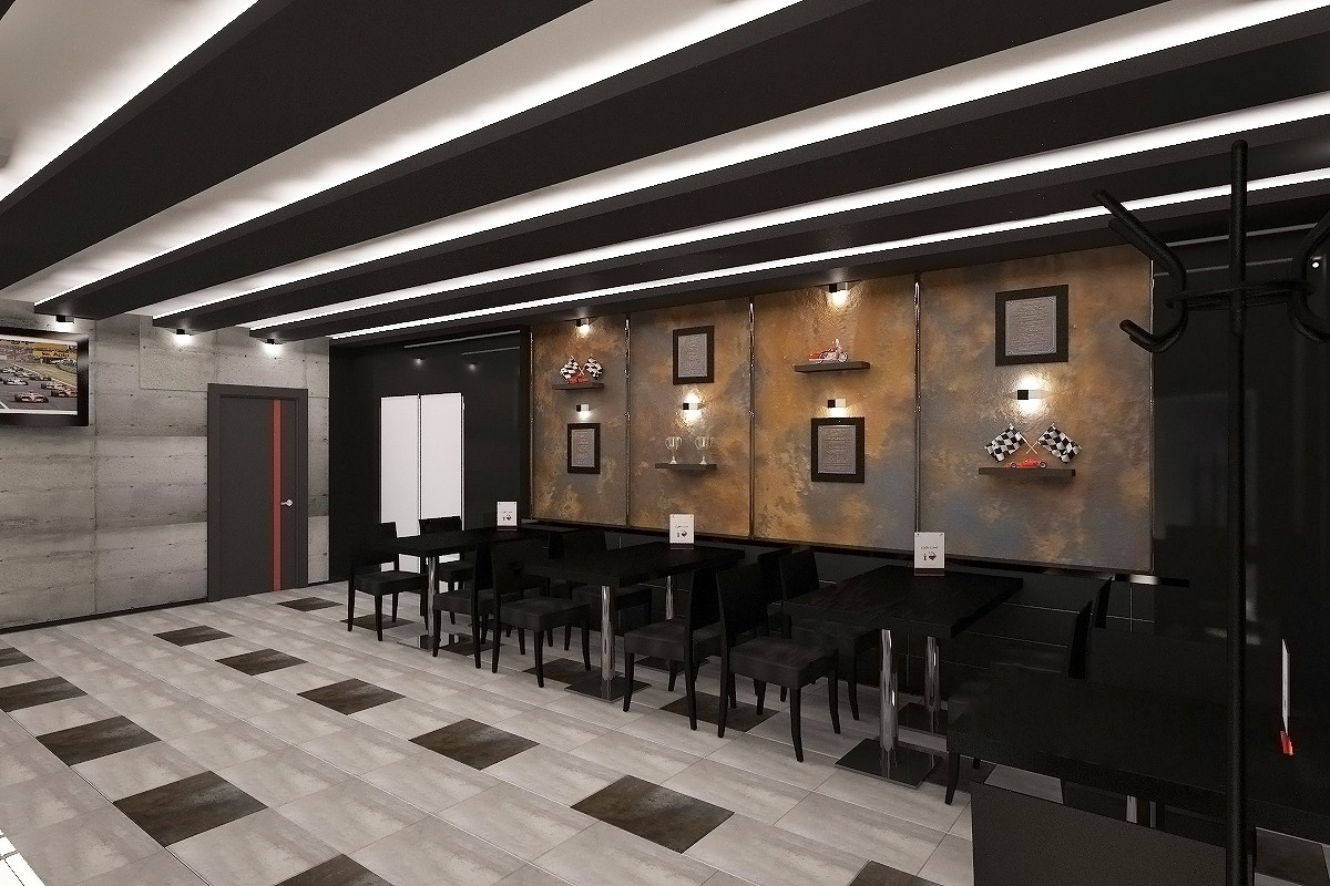 Caffe in 3d max vray image