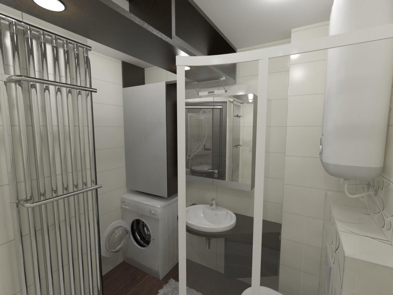 imagen de baño (muy Makhan'kov) en 3d max vray