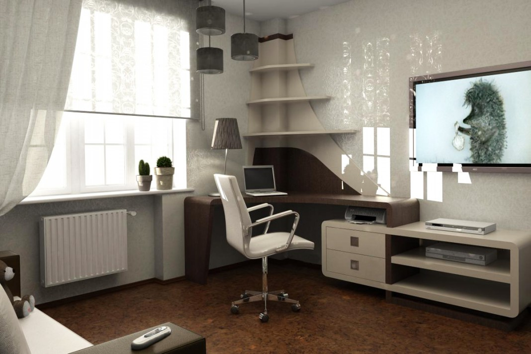 3d visualization of the project in the Nursery 3d max, render vray 1.5 of nedesigner