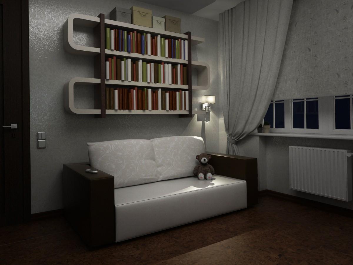 Детская комната в 3d max vray 1.5 изображение