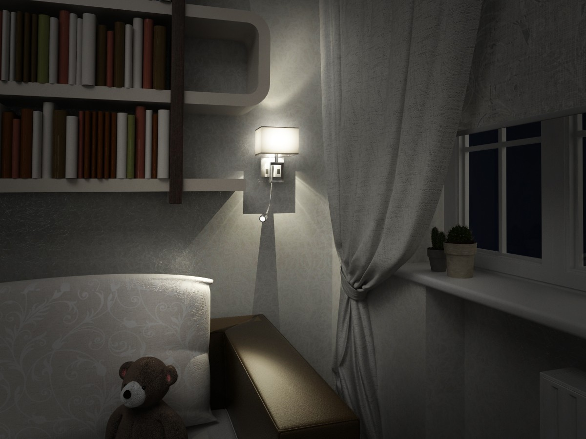 Nursery in 3d max vray 1.5 image