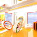 3d visualization of the project in the children's shop babyshop 3d max, render vray of Asya_Love_you