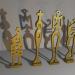 "small sculptures ""Chorus of Girls"""