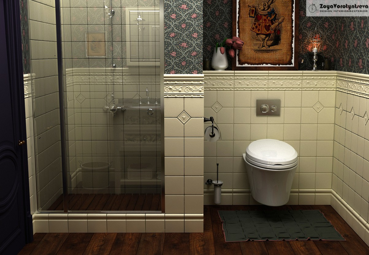 WC Alice in 3d max vray 2.5 image
