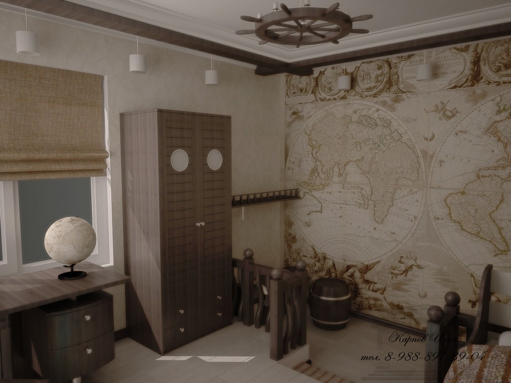 children's room Novocherkassk in 3d max vray image