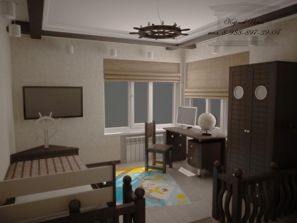 Children's room Novocherkassk in 3d max vray image