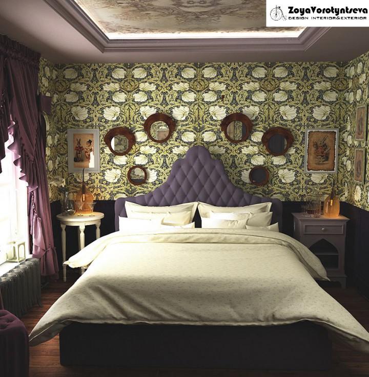 Спальня АЛІСА в 3d max vray 2.5 зображення