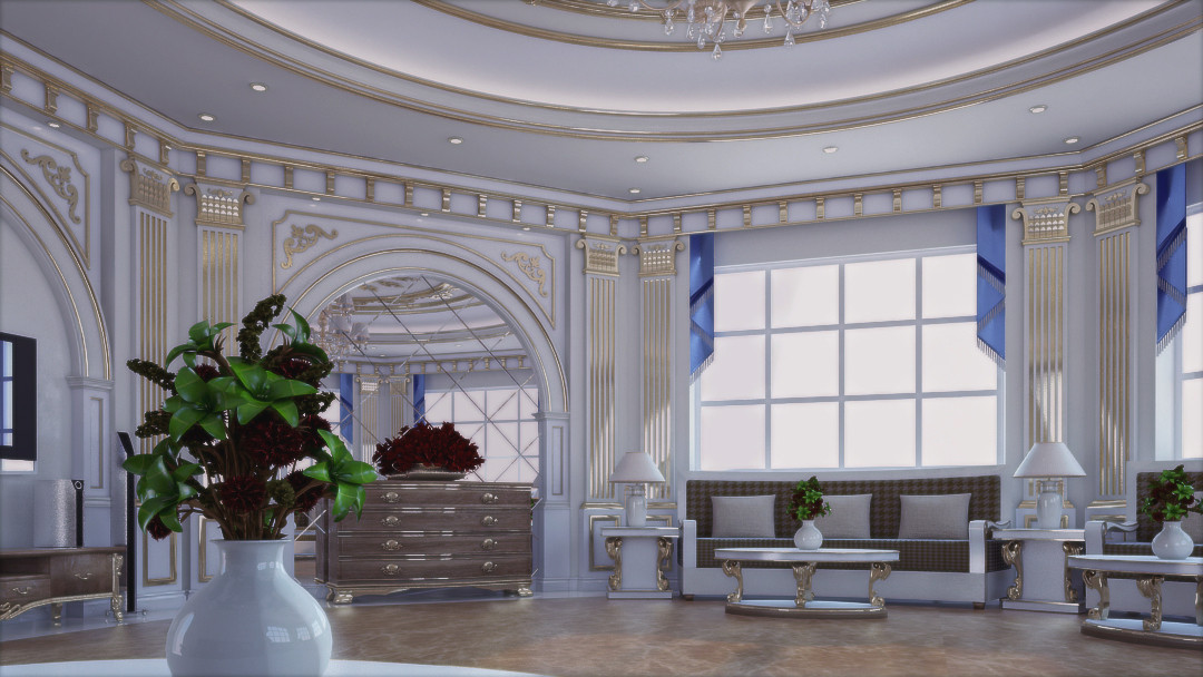 CLASSIC MAJLIS in 3d max vray 3.0 image