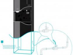 Wasser-Kühler