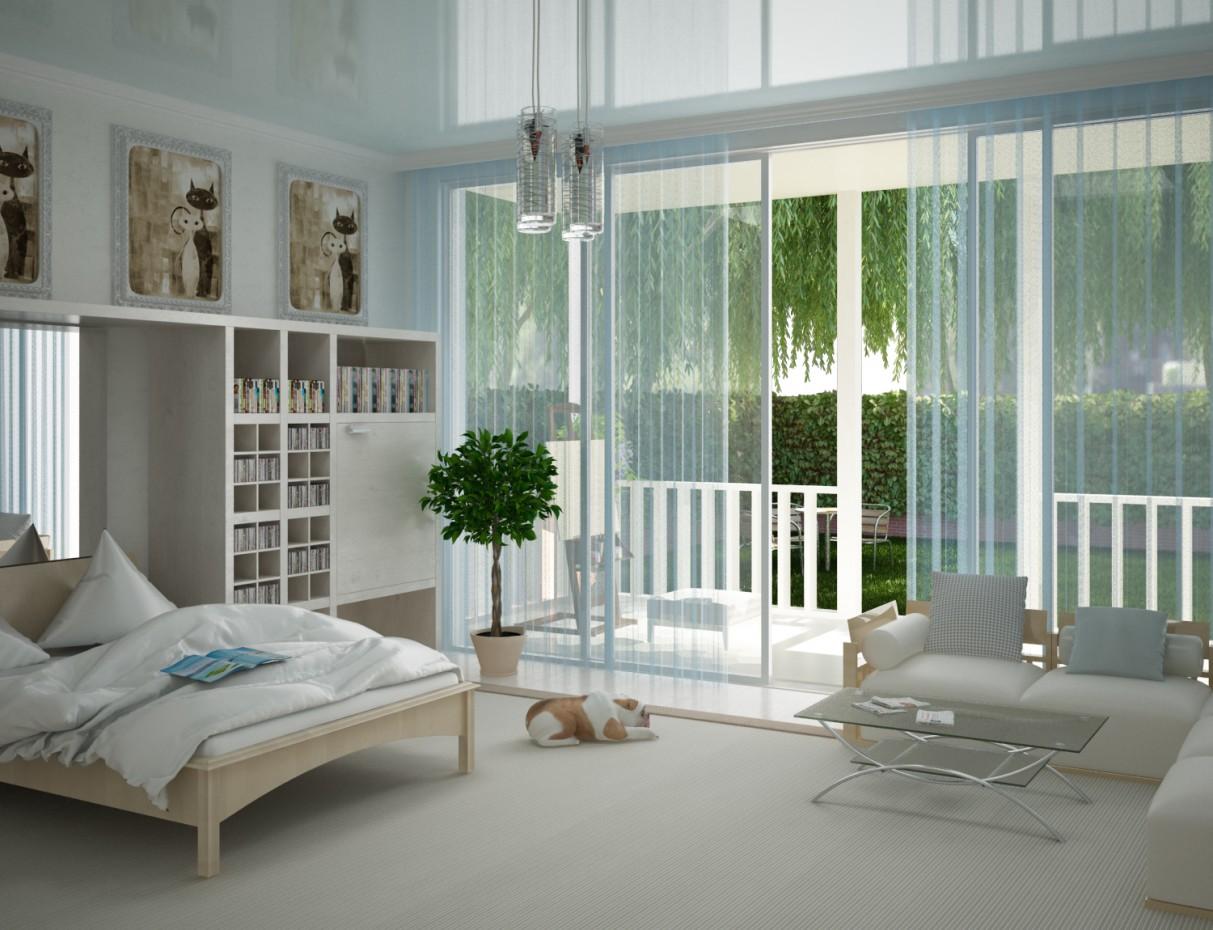 imagen de Dormitorio en 3d max vray 2.0