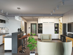 Residential complex. Studio apartment (studio)