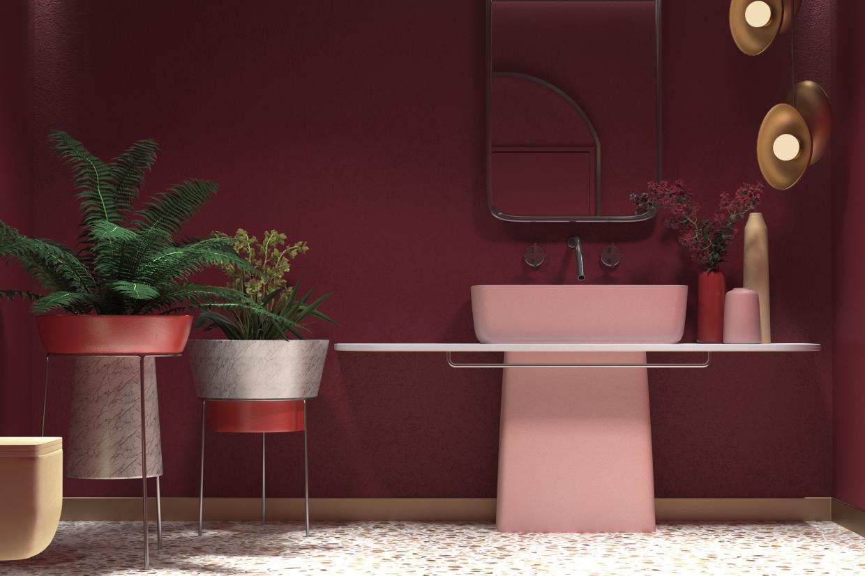 - Mitte - bathroom - in 3d max corona render image