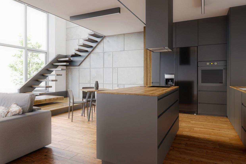 Interior in 3d max corona render image