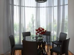 Sala de jantar com Bay window