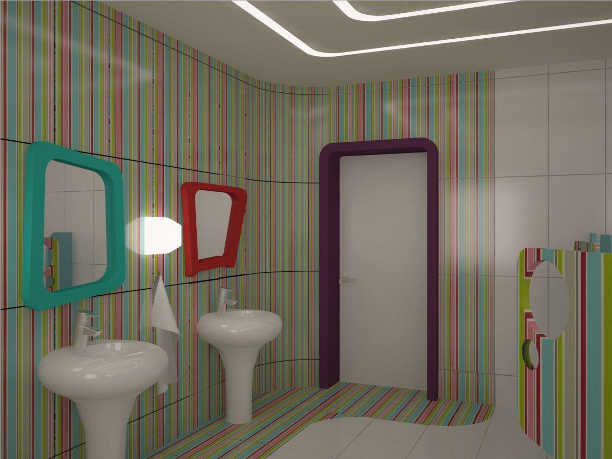 Детский дом в 3d max vray изображение