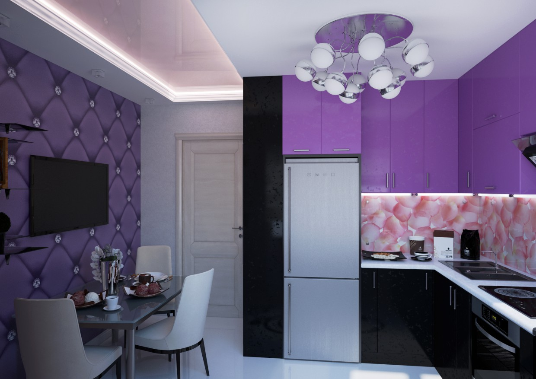 imagen de Diseño moderno de cocina en 3d max vray