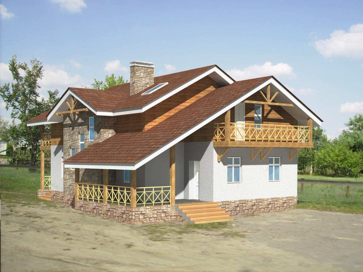 Voyage Chalet in ArchiCAD Other image
