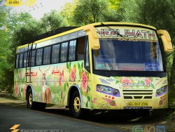 Neeliyath Roadways Bus Design by Thundersoul