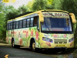 Diseño de Bus de caminos Neeliyath de Thundersoul
