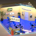 exhibition stand SILVA MASH in 3d max vray 3.0 image