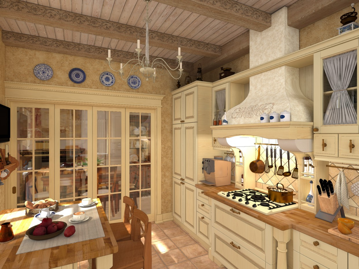 The kitchen in classical style in Other thing Other image