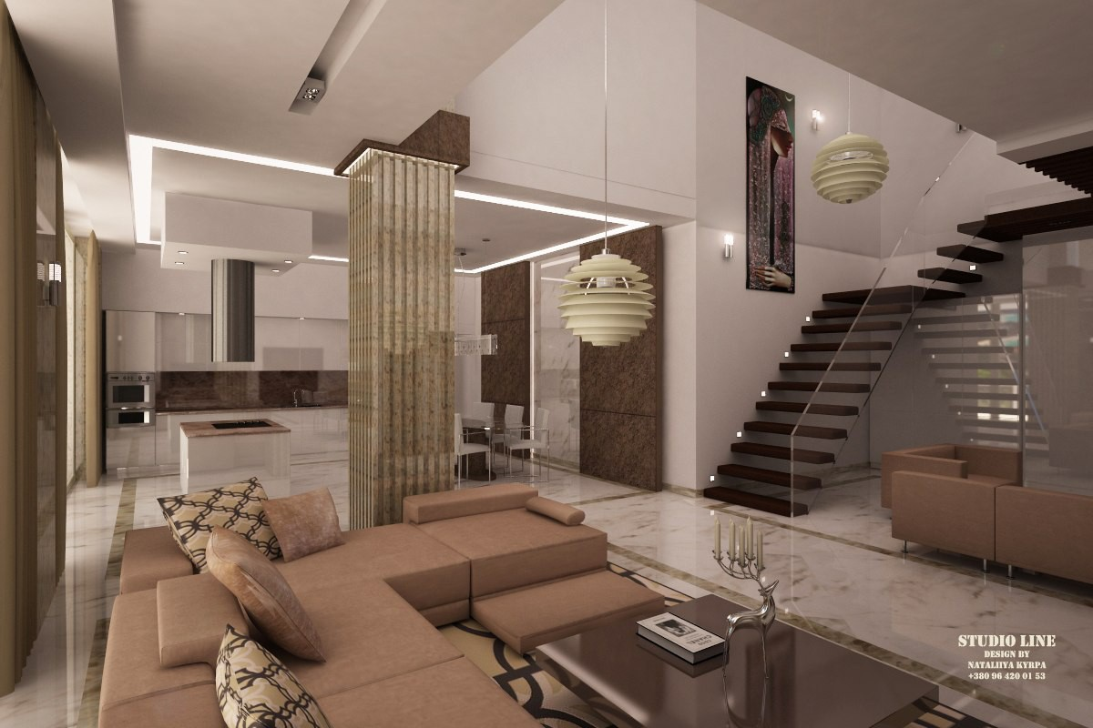 "Conceptual design ""Athene"" in 3d max vray image"