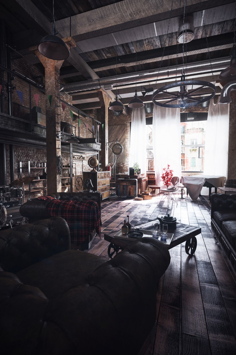 3d visualization of the project in the Old friends 3d max, render vray 3.0 of Artur Saljukov