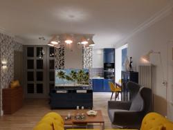 sala de estar con cocina