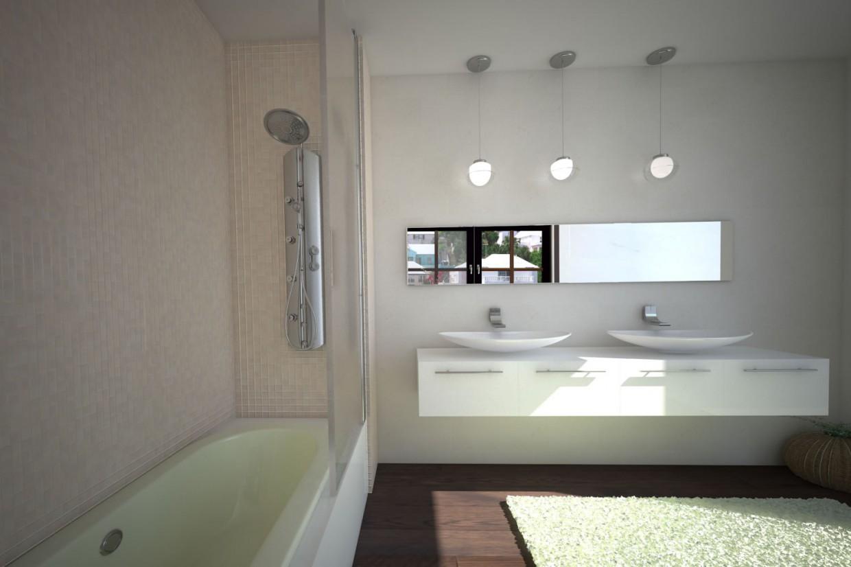 Ванна в 3d max vray изображение