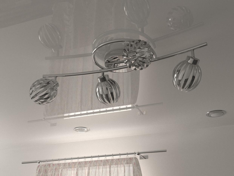 chandelier in 3d max corona render image