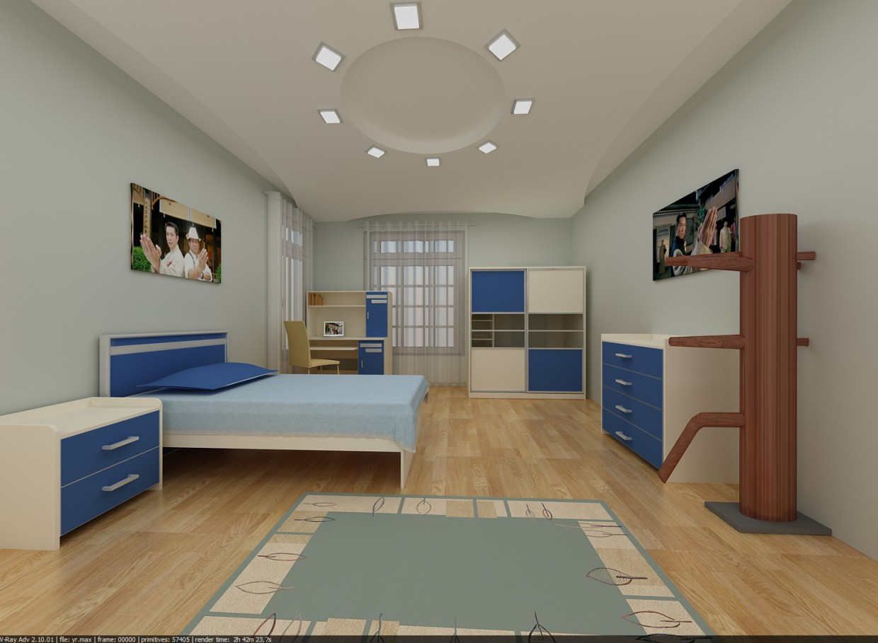 JuniorRoom in 3d max vray image