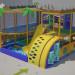 "Children's playground ""Uninhabited Island"" in 3d max vray 2.0 image"