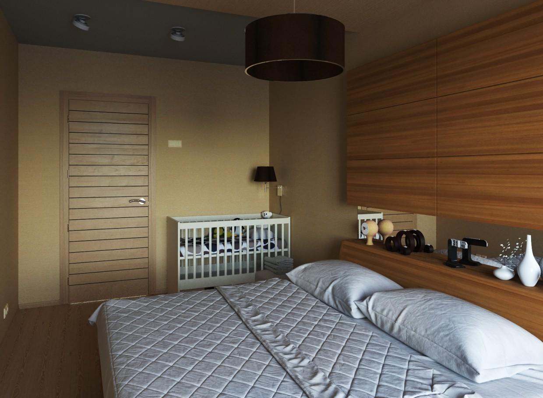 Yatak odası... in 3d max corona render resim