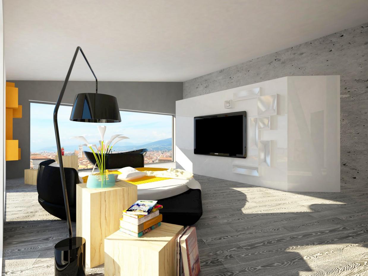 imagen de Apartamento de 2 plantas en Ekaterimburgo en 3d max vray