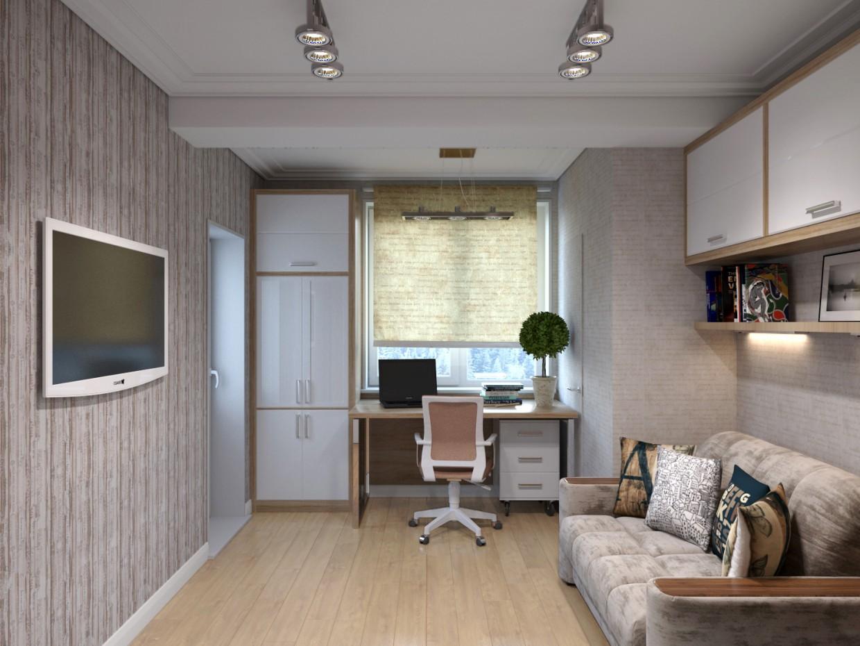 imagen de Dormitorio de niños en 3d max corona render