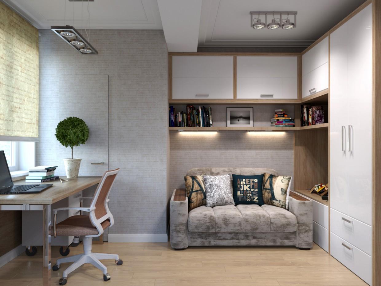 Children's bedroom in 3d max corona render image
