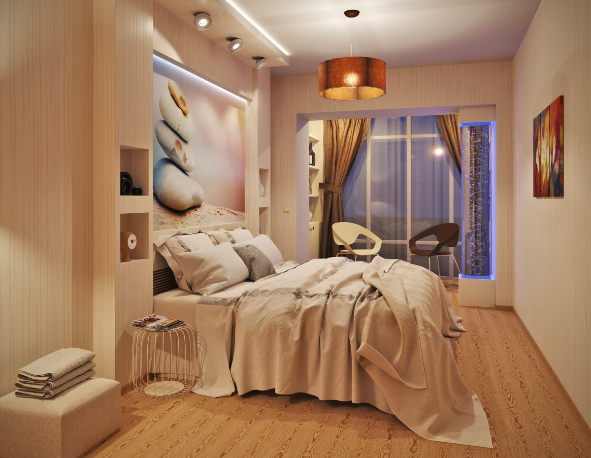 Bedroom ... (an alternative vision) in 3d max corona render image