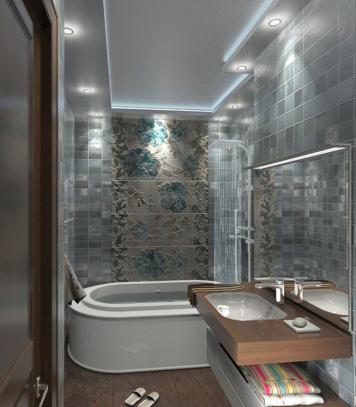 bathroom in 3d max vray 2.0 image