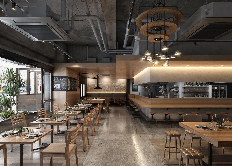 Rutsubo kitchen in 3d max vray 3.0 image