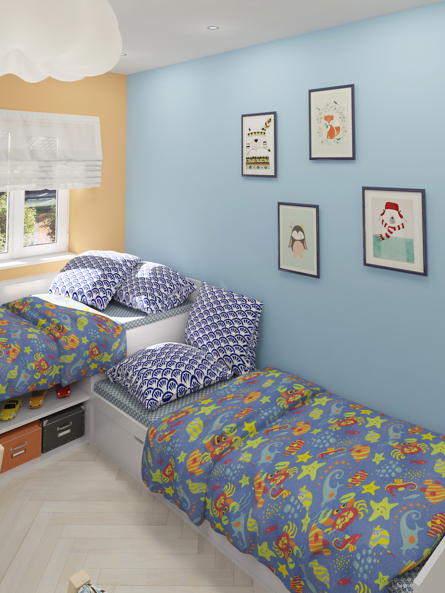 nursery in 3d max vray 3.0 image