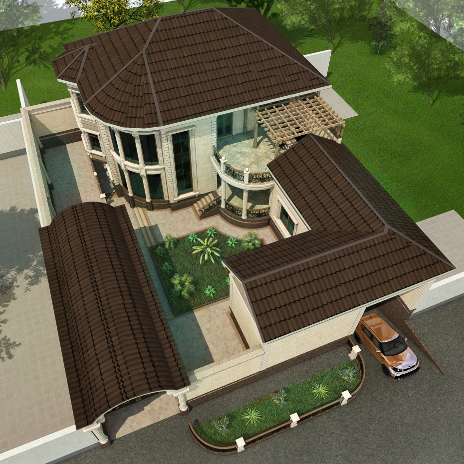 cottage in ArchiCAD Other image
