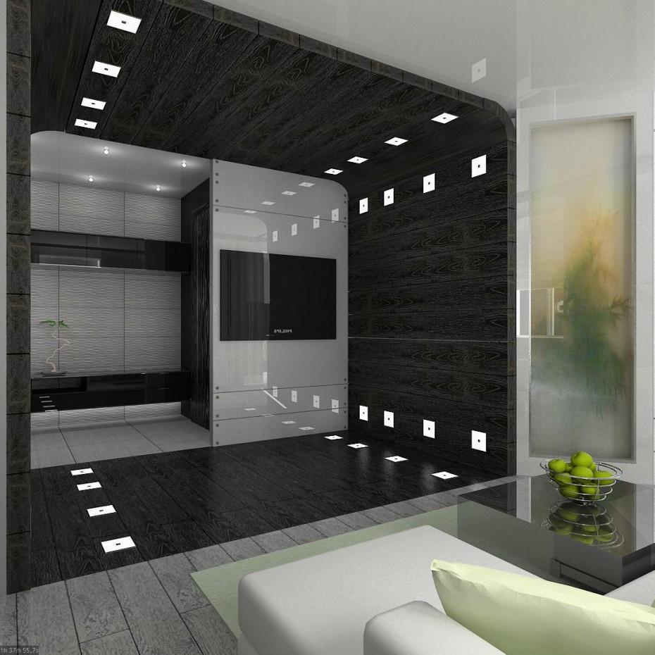 bachelor apartment Novoural'sk Sverdlovsk region. in 3d max vray image