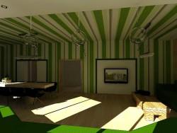 Skizze des Eco-Guest House