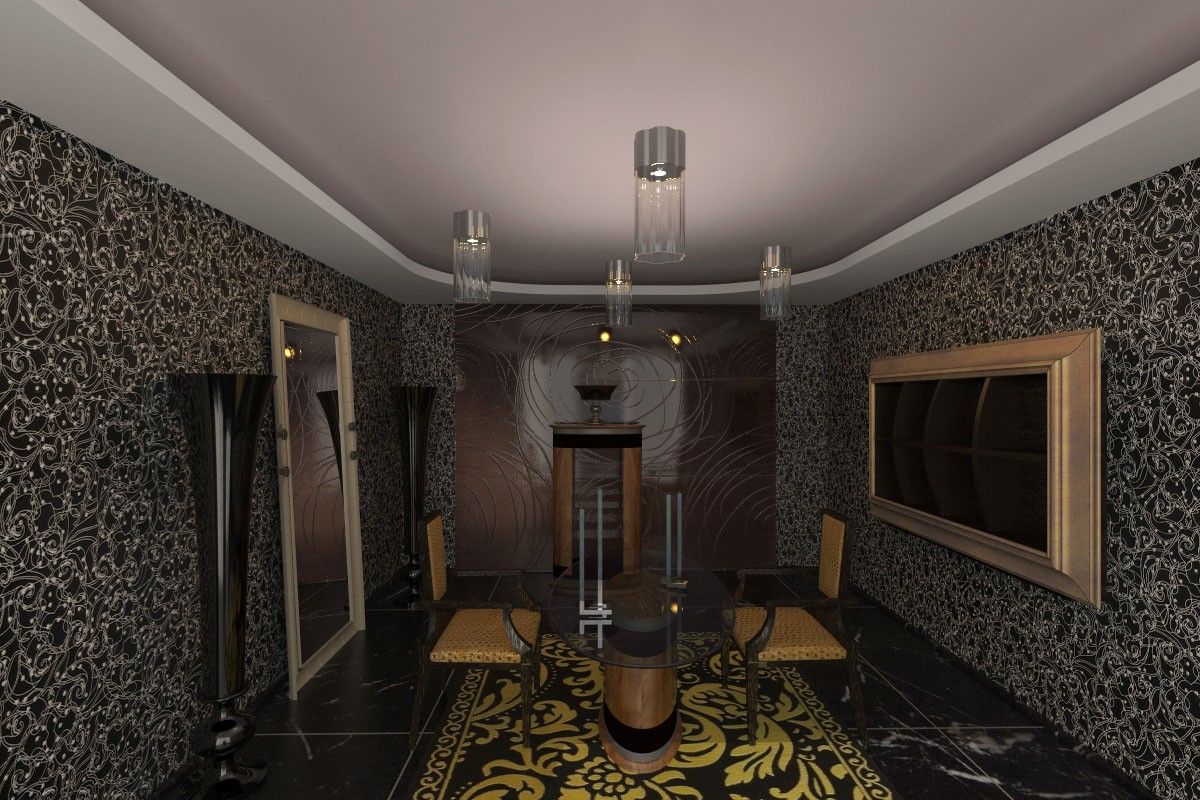 Conversation room in 3d max vray 2.0 image
